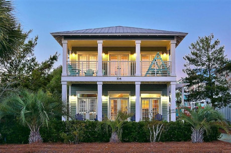 Burkes Beach Rentals 4 bedroom Seacrest Beach House